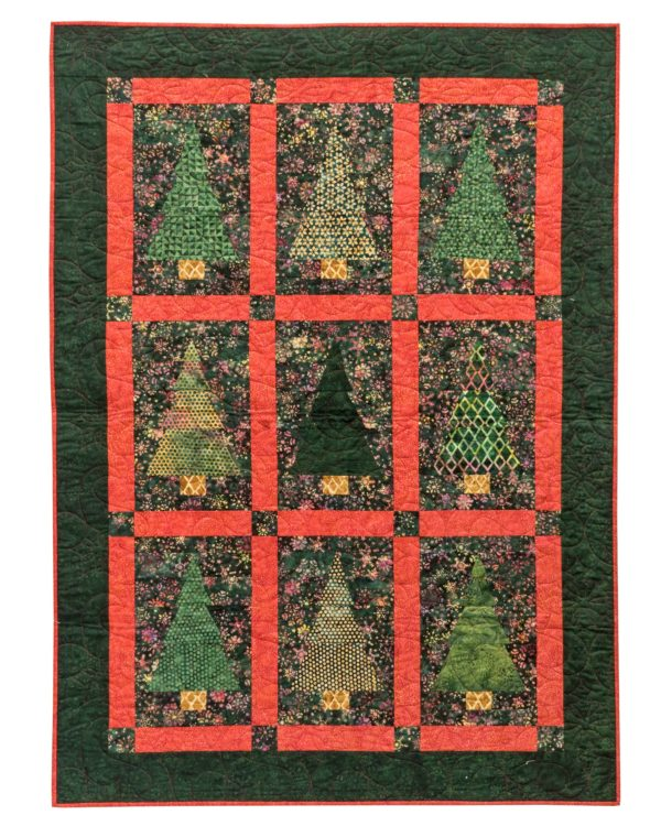 Island Batik – Once upon a Christmas Pattern Cover 2