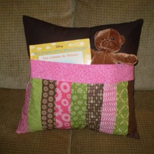 "BLD-022 – ""Teddy Time Pocket Pillow"""