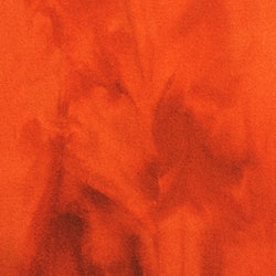 Valdani – SWEET ORANGE – 8in x 12in – 100% Pure Australian Virgin Wool