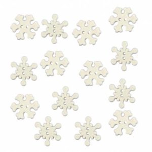 HOLIDAY COLLECTION SNOWFLAKE Buttons