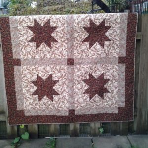 "BLD-015 – ""DINING WITH THE STARS"" Table Topper Quilt"