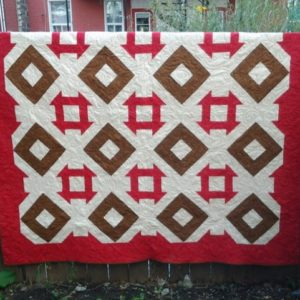 "BLD-017 – ""DOUBLE TAKE"" Quilt"