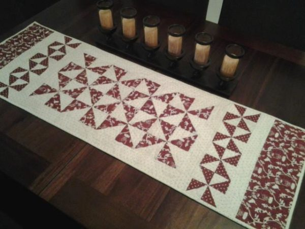 Classic Pinwheels Table Runner Photo