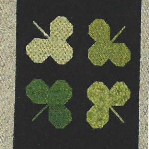 """BLD-008 – """"COLOR ME GREEN"""" Table Runner"""