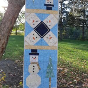 "BLD-006 – ""SNOW DAYS"" Table Runner"