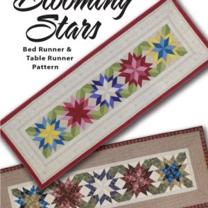 BLOOMING STARS Table Runner