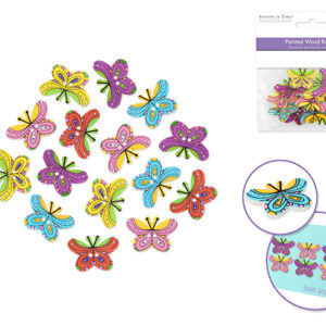 BUTTERFLY Buttons – Package of 15