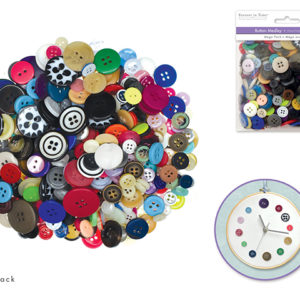 BUTTON MEDLEY Assortment – 150 gr/5.3 oz package