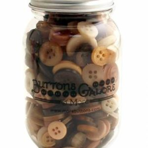 COCOA BUTTONS in a Jar   (approx. 200)
