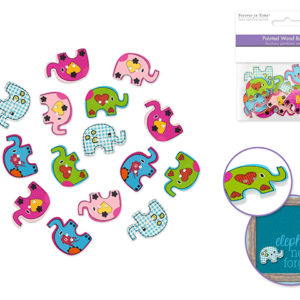 ELEPHANT Buttons – Package of 15