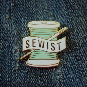 """SEWIST"" Pin"