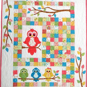 HOOTS HOLLOW Owl quilt