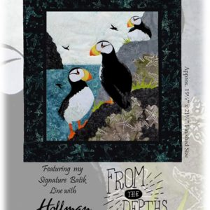 Maritime's Most Wanted Horned Puffin Pattern
