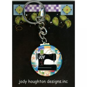 Quilter's Key Chain – Joy