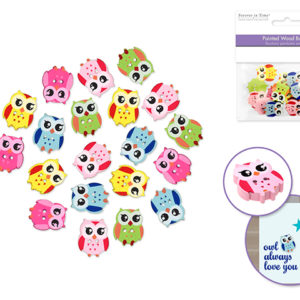 OWL Buttons – Package of 20
