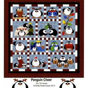 PENGUIN CHEER Quilt Pattern