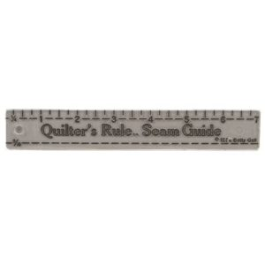 Quilter's Rule Seaming Guide 1in x 7in