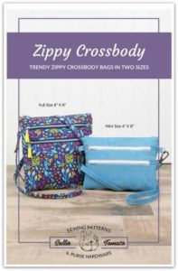 ZIPPY CROSS BODY Bag