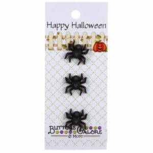 Spider Buttons,   Pack/3