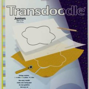 TRANSDOODLE Transfer Sheets – 8-1/2″ x 11″