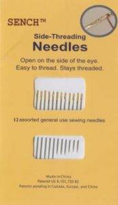 SENCH Side Threading Needles
