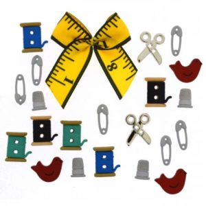 SEWING BOX Buttons