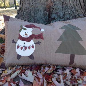 SNOVE (Snowman Love) Pillow